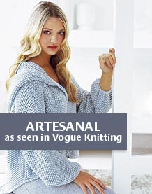 Artesanal: as seen in Vogue Knitting